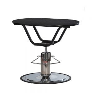 PetLift Classic Hydraulic Grooming Table Oval Shaped Top