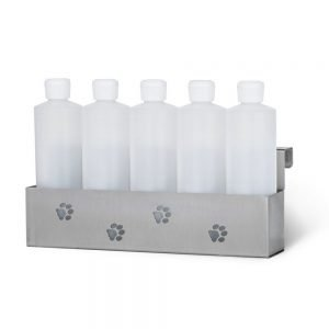 PetLift 5 Bottle Stainless Steel Holder
