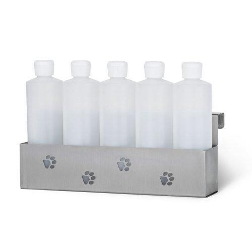 PetLift 5 Bottle Stainless Steel Holder