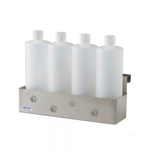 PetLift Stainless Steel 4 Bottle Holder