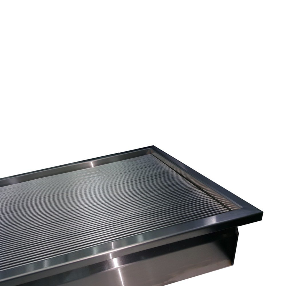 Vetline 48 Inch Stainless Steel Prep Rack Petlift Tubs