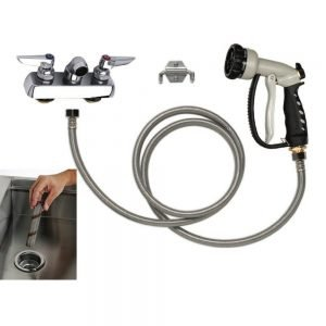PetLift Complete Faucet Package Hair Interceptor 4 Inch Centers