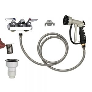 PetLift Complete Faucet Package 4 Inch Centers Wide Mouth Interceptor