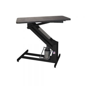 Petlift MAsterlift Black Hydraulic grooming table