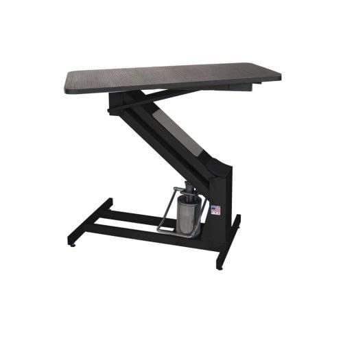 Petlift MAsterlift Black Hydraulic grooming table
